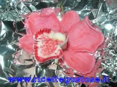 orchidee,facili,fotografate,pasta zucchero,dolci,decorazioni